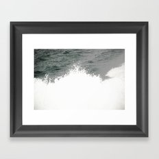 MAINE FERRY WAKE 2 Framed Art Print