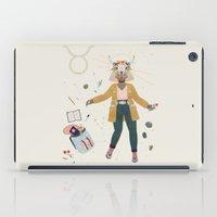 taurus iPad Cases featuring Taurus by LordofMasks