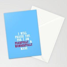 Fearfully & Wonderfully Made Stationery Cards