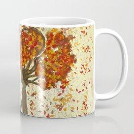 Digital painting of the season of Autumn Coffee Mug