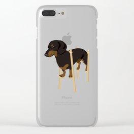 Big Boy Clear iPhone Case