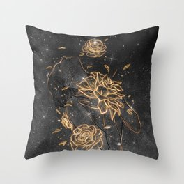 Shifting spirit. Throw Pillow