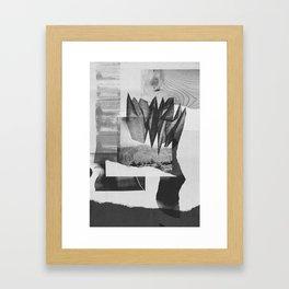 Desert Mountains 001 Framed Art Print