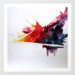 Color Field 1 Art Print