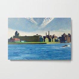 Roosevelt Island, New York City by Edward Hopper Metal Print