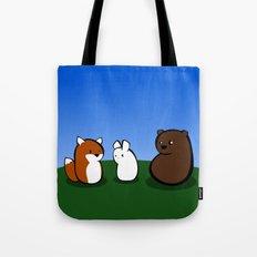 Animal Marshmallow Tote Bag