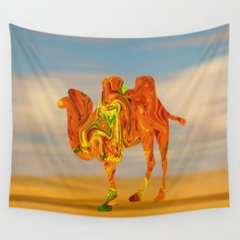 Marble Animals - Camel Wall Tapestry