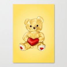 Teddy Bear Hypnotist Canvas Print