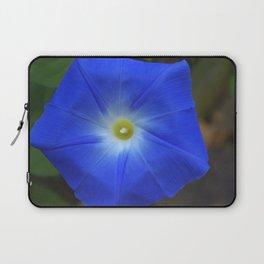 Blue, Heavenly Blue morning glory Laptop Sleeve
