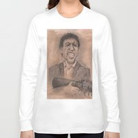montana Long Sleeve T-shirts featuring Montana by chadizms