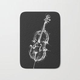 Black Cello Bath Mat