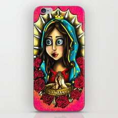 Lady Of Guadalupe (Virgen de Guadalupe) PINK VERSION iPhone & iPod Skin