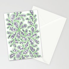 Swirl Drop 2 Stationery Cards