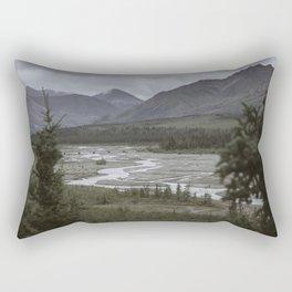Alaskan Wilderness Rectangular Pillow