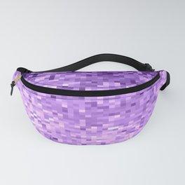 LavendeR Purple Pixels Fanny Pack