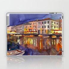 Night in Venice part 1 Laptop & iPad Skin