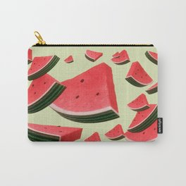 Retro Watermelon Carry-All Pouch