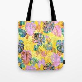 Kona Tropic Yellow Tote Bag