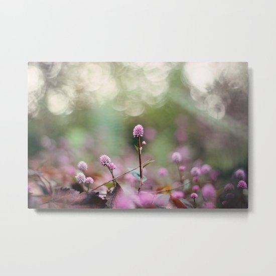 Stand Back Up Metal Print
