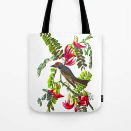 Piping Flycatcher Bird Tote Bag