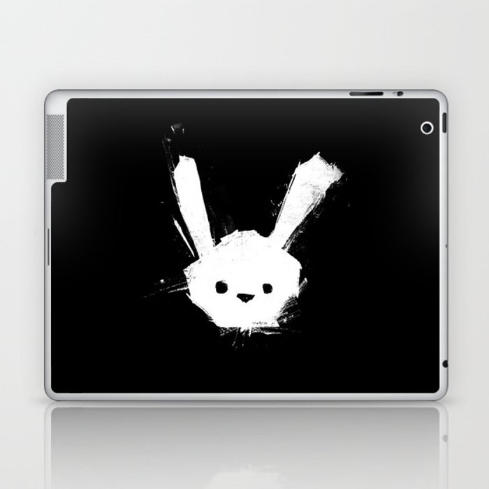 minima - splatter rabbit  Laptop & iPad Skin
