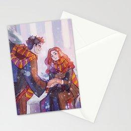 Snowy Jily Stationery Cards