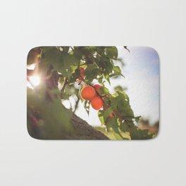 Fresh Apricots On The Tree Bath Mat