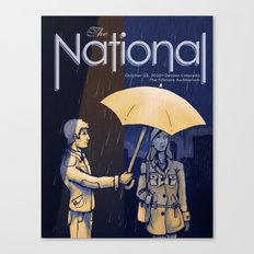 The National band poster (Sad) Canvas Print