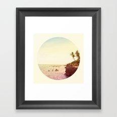 Salt Water Dreams Framed Art Print
