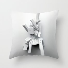 From The Perspective of Accumulation Throw Pillow