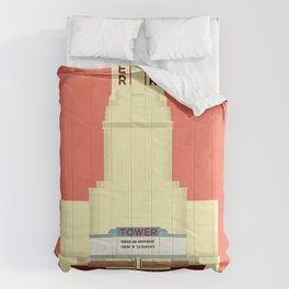 Tower Theater Comforters
