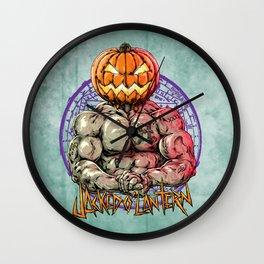 JACKED O' LANTERN Wall Clock