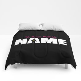 The Driver With No Name Comforters