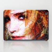 emma watson iPad Cases featuring Emma Watson by Raditya Giga
