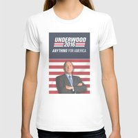house of cards T-shirts featuring House of Cards / Campaign Poster II by Earl of Grey
