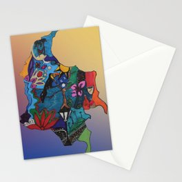 Colombian doodle Stationery Cards