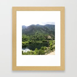Bell Canyon Framed Art Print