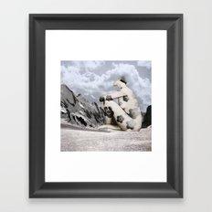 Head Trip Framed Art Print