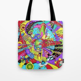 Out of Space by dana alfonso Tote Bag