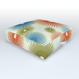 Retro Flower Pattern #society6 #buyart #decor Outdoor Floor Cushion