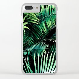 Winter Palms Clear iPhone Case