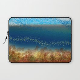 Abstract Seascape 01 w Laptop Sleeve