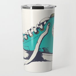 Conversation Aqua Travel Mug