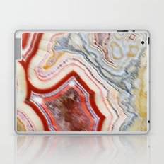 Marble Red Laptop & iPad Skin