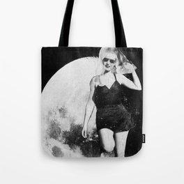 ...Moon Wig.... Tote Bag
