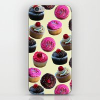 cupcakes iPhone & iPod Skins featuring Cupcakes by Tangerine-Tane