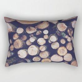 firewood no. 1 Rectangular Pillow