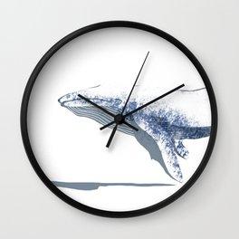 white whale Wall Clock