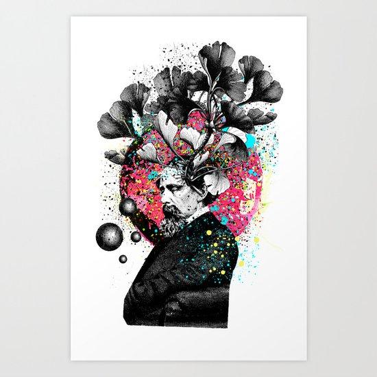 No Gravity  Art Print