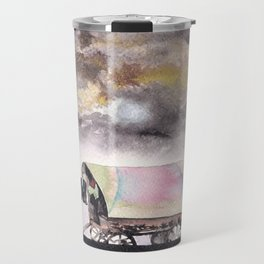 Rising stars above Travel Mug